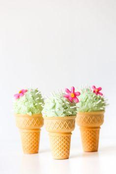 Cactus Ice Cream Con