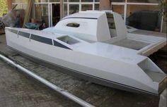 Bolger, Sharpie Catamaran Concept 24ft6in x 14 ft