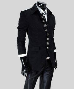 Slimming Turndown Collar Fashion Single Breasted Long Sleeve Woolen Coat For Men (RED,2XL) | Sammydress.com