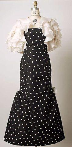 1988 Oscar de la Renta Evening dress Metropolitan Museum of Art, NY