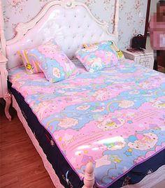 On the look out for some VERY fluffy kawaii bedspreads ...