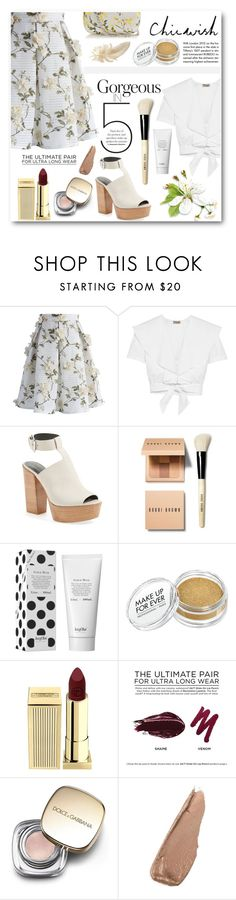 """""""chicwish"""" by pankh ❤ liked on Polyvore featuring Chicwish, Tiffany & Co., Temperley London, Rebecca Minkoff, Bobbi Brown Cosmetics, Lipstick Queen, Urban Decay, Dolce&Gabbana, Alexander McQueen and chicwish"""