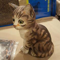 "Danbury Mint Cat Figurine  ""Muffin"" Kitten | Collectibles, Decorative Collectibles, Decorative Collectible Brands | eBay!"