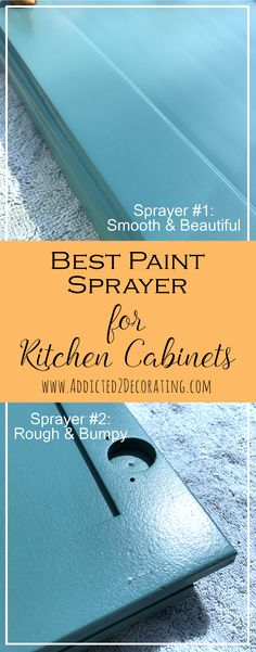 best paint sprayer for kitchen cabinets our diy kitchen renovation started with a builder s 12167