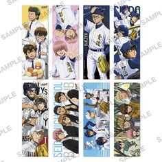 """[New Products Economy ② ★] popular TV anime """"Ace of Diamond"""", Long Poster Collection 2nd decision !! gorgeous new draw down lineup !! will be released all eight-February 2016] release"""