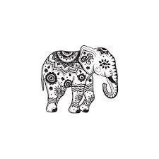 Resultado de imagen para indian elephant tattoo