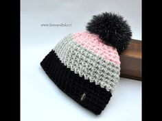 Exceptional Stitches Make a Crochet Hat Ideas. Extraordinary Stitches Make a Crochet Hat Ideas. Crochet Winter Hats, Crochet Beanie Hat, Crochet Cap, Love Crochet, Easy Crochet, Knitted Hats, Crochet Videos, Kids Hats, Loom Knitting