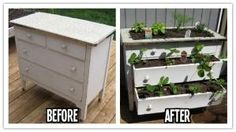 How to build a DIY garden planting box from a used dresser step by step tutorial instructions , How to, how to do, diy instructions, crafts, by Mary Smith fSesz