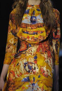 Jeroen Bosch op je jurk! Geweldige collectie van Carven