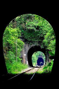 Triple Railroad Tunnel, Xiapu