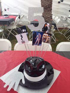 Michael Jackson Party Centerpieces