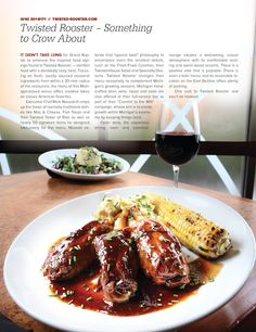Twisted Rooster's unique twist on classic American fare earned it a spot amongst the best restaurants in Grand Rapids!