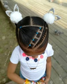 Little Girl Hairstyles, Hair Videos, Little Girls, Braids, Quotes Amor, Hair Styles, Pablo Neruda, Beauty, Fashion