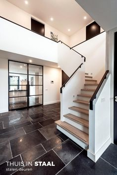 Barn House Conversion, Balustrades, Hallway Designs, Modern Stairs, House Stairs, Staircase Design, Home Deco, Home And Living, Future House