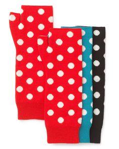 kate spade new york Polka Dot Fingerless Gloves | Bloomingdales