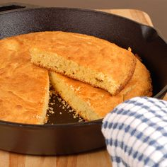 Cornmeal and flour give this Sweet Cornbread Recipe its heft, with honey providing the savory sweetness.