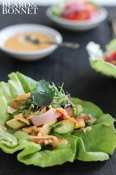 Bánh mì Lettuce Wraps | 29 Meat-Free Meals You Can Make Without Your Stove