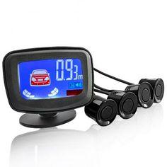 Car Video - Car Rear View Camera 7260 - Sistema de sensor de aparcamiento con pantalla LCD Distancia y advertencia de voz. Precio 32,23 €
