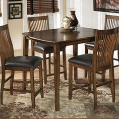 With a warm medium brown finish flowing beautifully over the sleek contemporary design, the