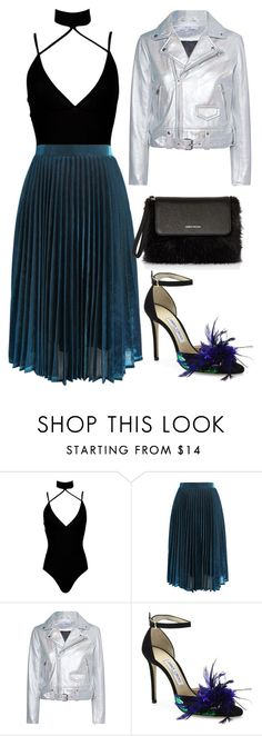 """Midi Sensation"" by deesly on Polyvore featuring Boohoo, Chicwish, IRO, Jimmy Choo and Karen Millen"