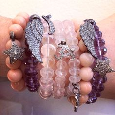 These GORGEOUS bracelets are artisan crafted and come in more hues than those listed. For more info or to purchase with FREE SHIPPING, message us!
