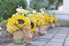 Southern Weddings | Sunflower Wedding | Cotton Wedding | Outdoor Events | Event and Wedding Planning | Natalie Bradley Events