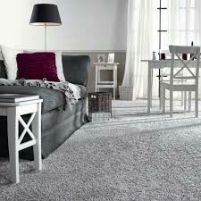 Living Room Design Ideas Grey Carpet Love The White Furniture Gray Carpet Sheers Touch The Chic Grey Living Room With Clean Lines Living Room Grey Easy On Lounge With Grey Carpet Interior Grey Carpet Bedroom, Living Room Carpet, Living Room Grey, Grey Walls And Carpet, Gray Walls, White Walls, White Furniture, Living Room Furniture, Living Room Decor