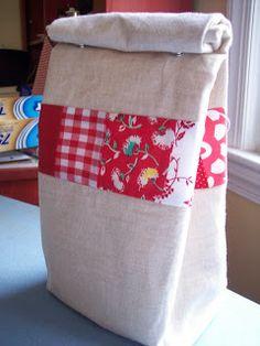 See Katie Sew: Lunchbag Tutorial