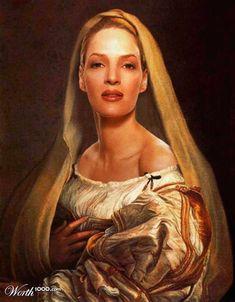 Uma Thurman). http://kengarex.com/11-portraits-of-modern-celebrities-stylized-during-the-renaissance/