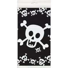 Skulls Plastic Tablecloth 84 x 54 -- Learn more by visiting the image link.