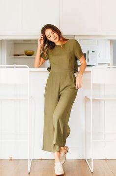 7b9b9a0e673 Force Of Nature Jumpsuit Olive Jumpsuit