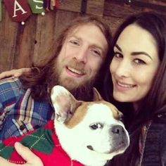 Mom & Dad. Daniel Bryan & Brie Bella, Josie