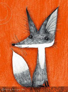 #art #fox #drawing