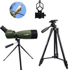 SVBONY Spotting Scope BAK4 Zoom 25-75x70mm 45De Spotting Scopes Birdwatch Binocular Monocular+Phone Adapter+2 Tripod F9310 #Affiliate