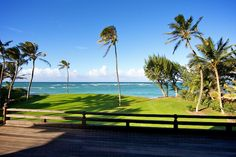Views from the Lanai of an Oceanfront Estate in Spreckelsville, Maui
