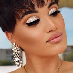 BROWS @anastasiabeverlyhills Dark brown from eyebrow palette EYES @glitterinjections  @anastasiabeverlyhills Creme Color JET  Lashes are @lashesbylena  #LENALASHES in style NAOMI  LIPS @anastasiabeverlyhills PURE HOLLYWOOD #LiquidLips with @maccosmetics Pure zen lipstick SCULPT @anastasiabeverlyhills contour (powder)  @doseofcolors PEACH GLOW higlighter #DOSEOFCOLORS @helena_makeup  #AnastasiaBeverlyHills #dollhousedubai #hudabeauty #shophudabeauty #motivescosmetics @vegas_nay…