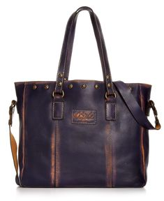 Patricia Nash Handbag, Overdyed Small Gave Tote - Patricia Nash - Handbags & Accessories - Macy's
