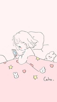 Pink Images, Funny Phone Wallpaper, Kawaii Anime, Cute Art, Chibi, Pop Art, Illustration Art, Doodles, Artsy