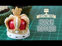 Queen's 90th Birthday Crown fondant / polymer clay tutorial