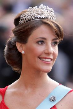 Princess Marie of Denmark, Countess of Monpezat, RE (née Marie Agathe Odile Cavallier, born 6 February 1976) is the second wife of Prince Joachim of Denmark.