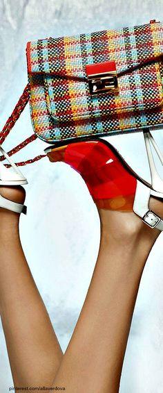 Fendi Spring Summer 2014 by Karl Lagerfeld | LBV ♥✤ | KeepSmiling | BeStayElegant