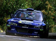 Subaru Impreza 22B WRC
