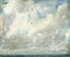 John Constable - Wolken Studie
