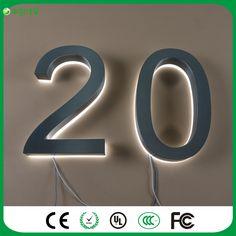 Solar House Number Light Solar LED Light alphanumeric number 3 LED lights led solar outdoor garden light #Affiliate
