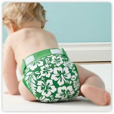 Cloth gDiapers...  love the pattern. ..
