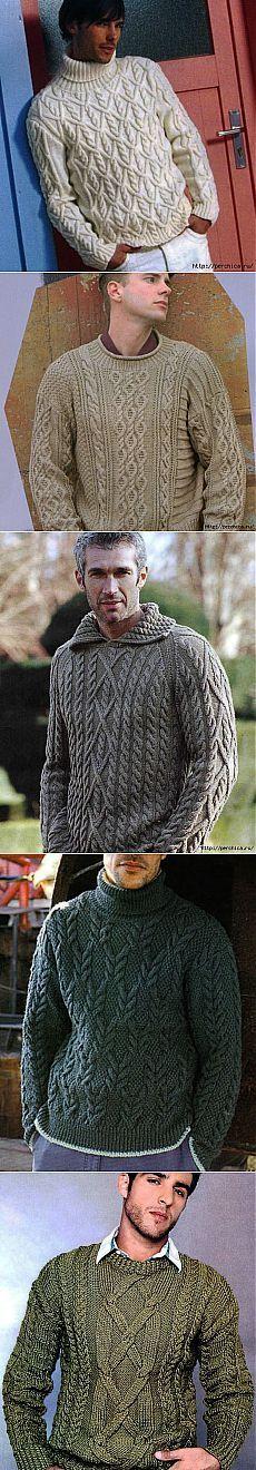 Коллекция пуловеров для любимых мужчин