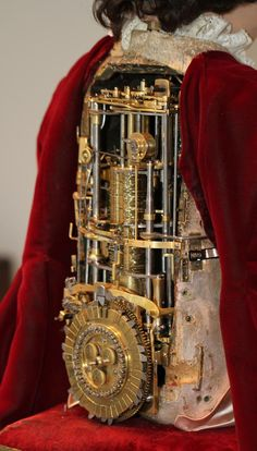 Mechanical+Automaton | Exhibition In Switzerland Showcases 18th Century Androids From Jaquet ...