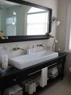 Hall bath remodel ideas on pinterest bathroom bath and for Hallway bathroom ideas