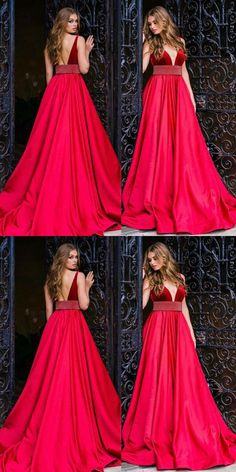 Simple Prom Dresses, elegant a line v neck sleeveless red long prom evening dress with beading , From petite prom dress styles to plus size prom dresses, short dress to long dresses and more,all of the 2020 prom dresses styles you could possibly want! Pageant Dresses For Teens, Senior Prom Dresses, Princess Prom Dresses, Tulle Prom Dress, Prom Dresses Online, Teen Dresses, Graduation Dresses, Party Dresses, Dresses Uk