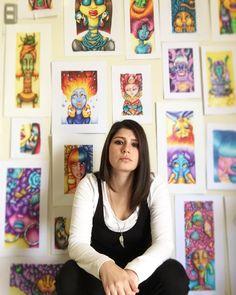 Tiempo & dedicación #art #illustration #myartstyle Fashion Art, Style Me, Gallery Wall, My Arts, Illustration, Home Decor, Colors, Art, Illustrations